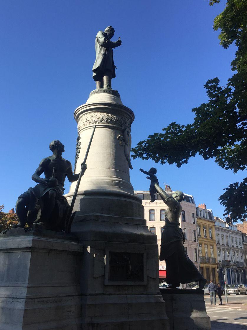 Monument à Pasteur à Lille