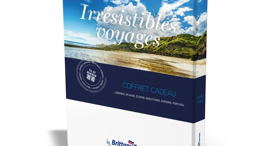 """Coffret """"Irrésistibles Voyages"""" by Brittany Ferries"""