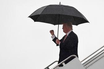 Donald Trump le 7 octobre 2017 en Caroline du Nord