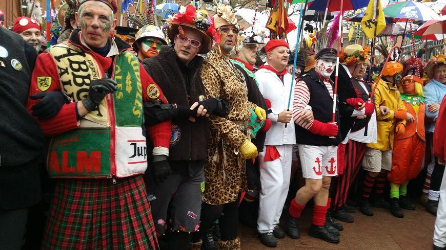 1ère ligne Carnaval de Dunkerque 2017