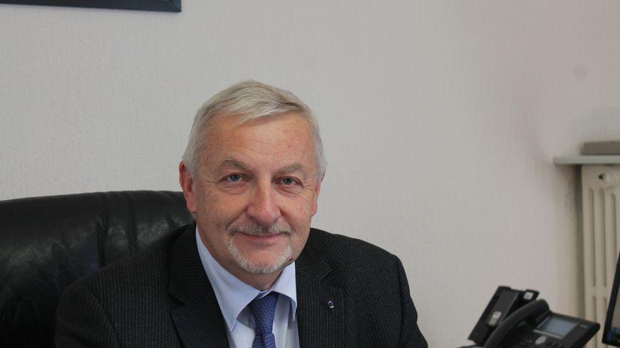 Christian Patoz, directeur académique de vaucluse