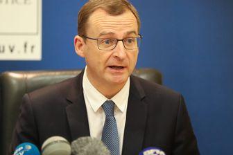 le procureur de la République de Chambéry Thierry Dran, qui a mis en examen, ce mercredi, Nordhal Lelandais pour assassinat.
