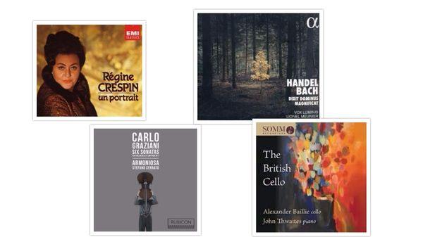 Actualité du disque : Bach, Schubert, Graziani...