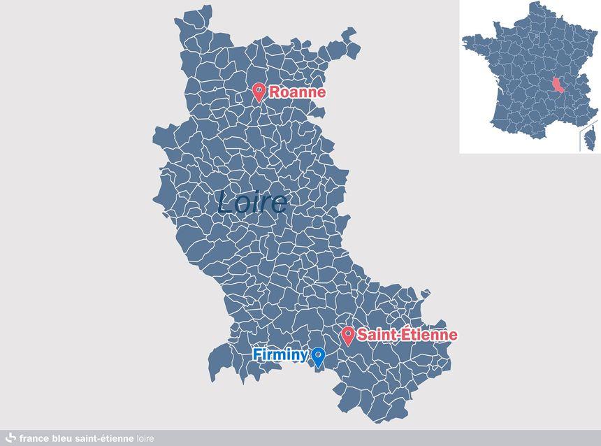 Firminy, dans la Loire