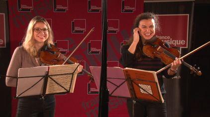 Bartók | Deux danses par Deborah et Sarah Nemtanu