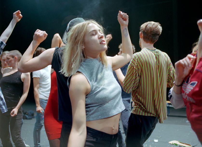 """""""Crowd"""", de Gisèle Vienne (2017)"""