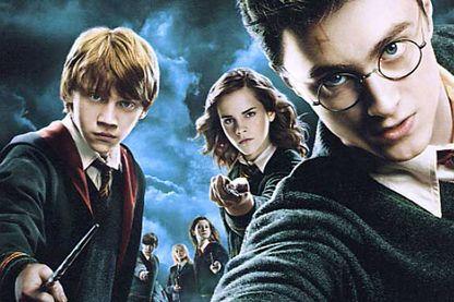 Détail de l'affiche D'Harry Potter et l'ordre du Phoenix, film de David Yates
