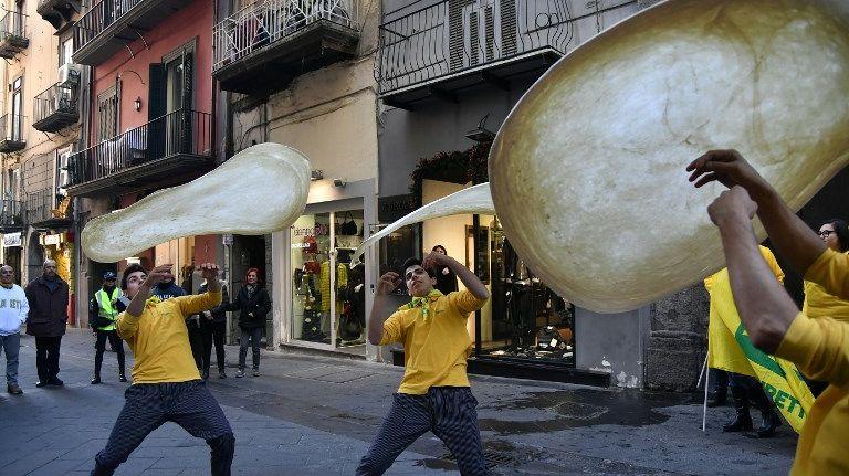 L'art du pizzaïolo napolitain entre au patrimoine immatériel de l'Humanité de l'Unesco