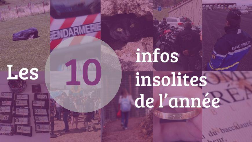 Les dix infos insolites de 2017 en Touraine