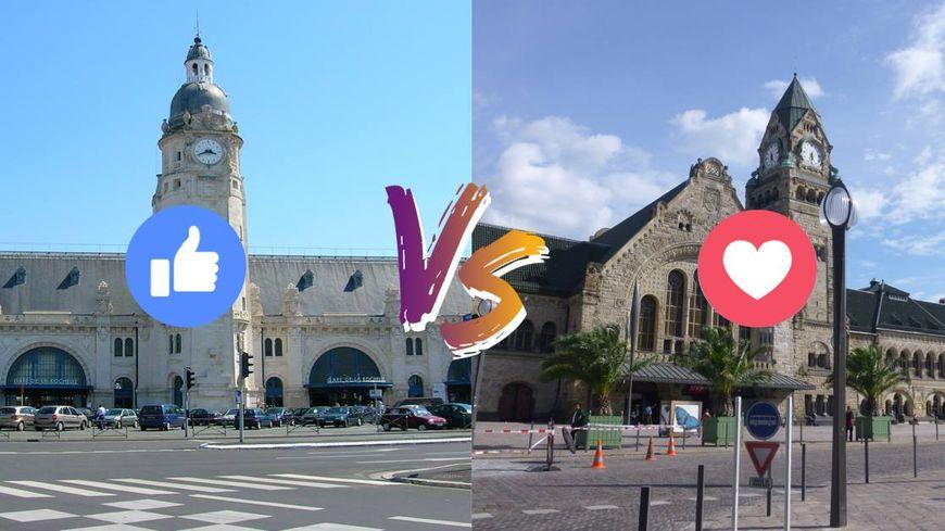 Metz ou La Rochelle ? C'est bien Metz qui a gagné le concours de la plus belle gare de France, lancé sur Facebook par la SNCF.