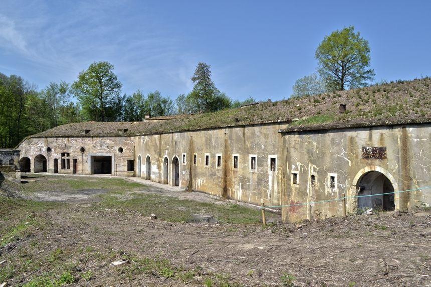 Le Fort de la Grande Haye accueille le public de mars à septembre.