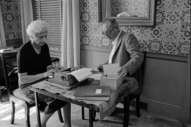 Les Nabokov au travail