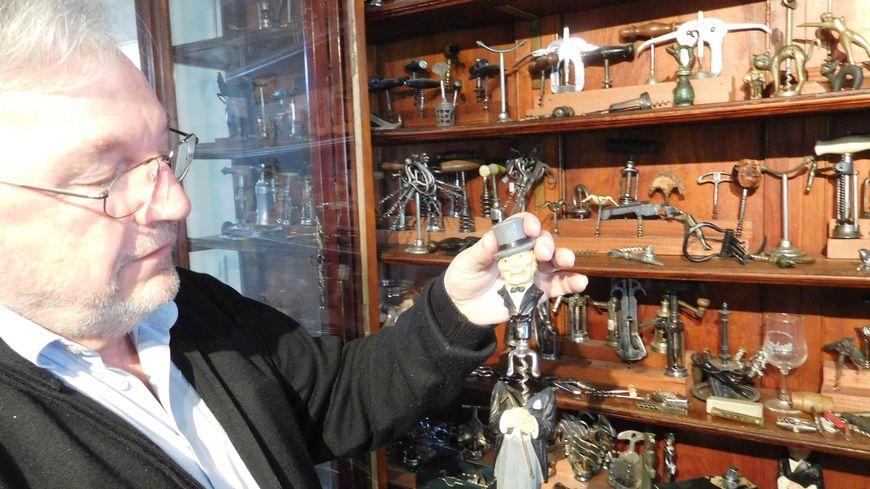 Marc Ouvrard est président du Club Français du tire-bouchon