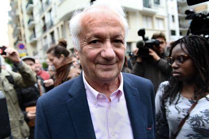 Jean-Marie Cavada, député européen, ancien président de Radio-France et ancien journaliste au siège d'En Marche - 8 mai 2017