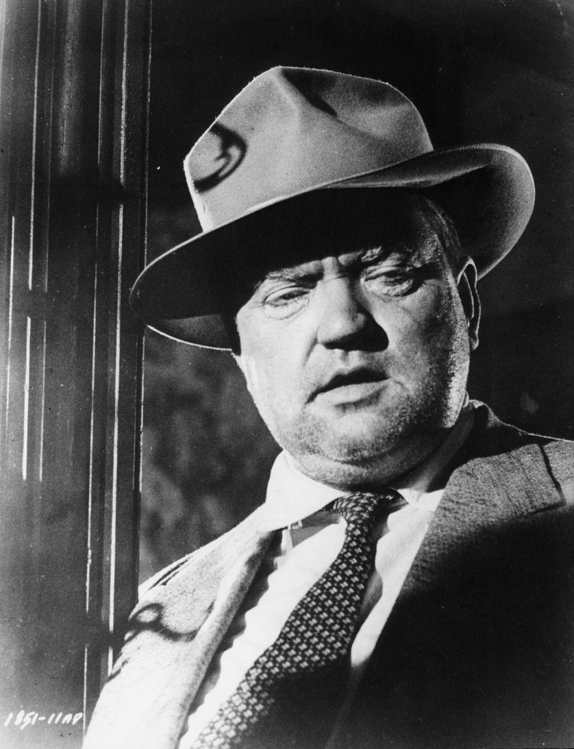 Orson Welles dans le film La soif du mal (1958)