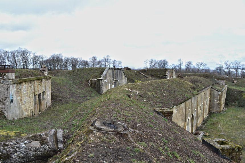 Fort de Golbey vu du dessus (photo prêtée).