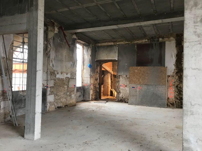 La fin des travaux est prévue en juillet. L'hôtel devrait ouvrir ses portes en septembre.