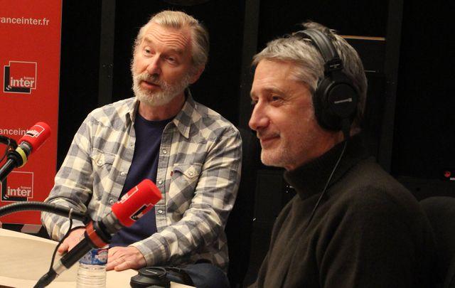 Reconstitution de ligue dissoute...  Laurent Chalumeau et Antoine de Caunes