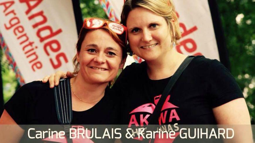 Karine et Carine prépare le Raid Amazones