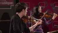 Schumann   Quatuor à cordes n°3 op.41 (Deuxième Mouvement) par le Quatuor Hermès