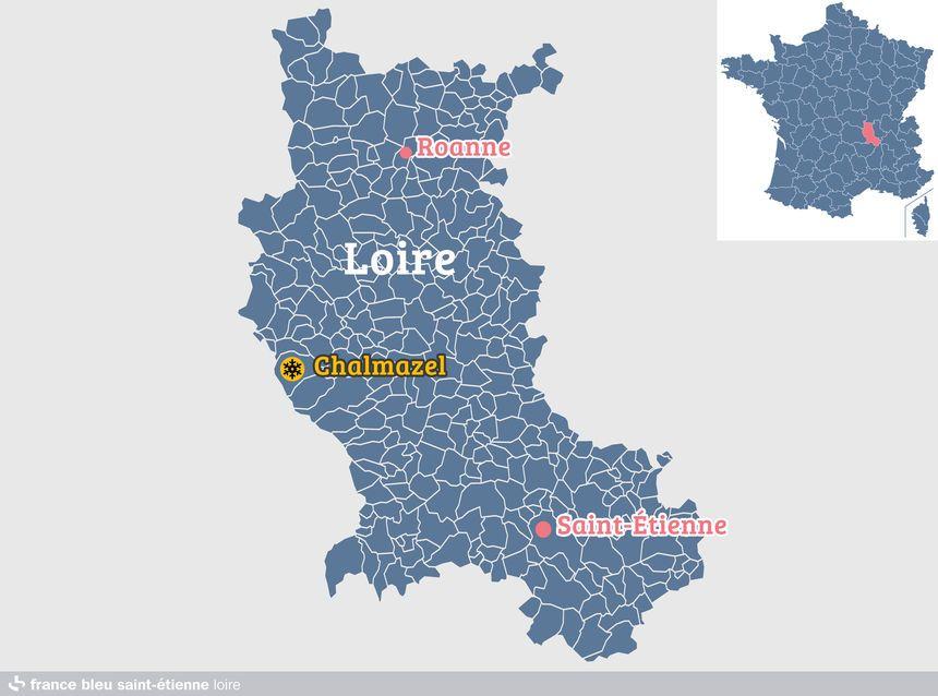 Chalmazel, dans la Loire