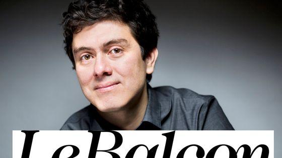 Juan Pablo Carreno par Olivier Rollet et logo Le Balcon