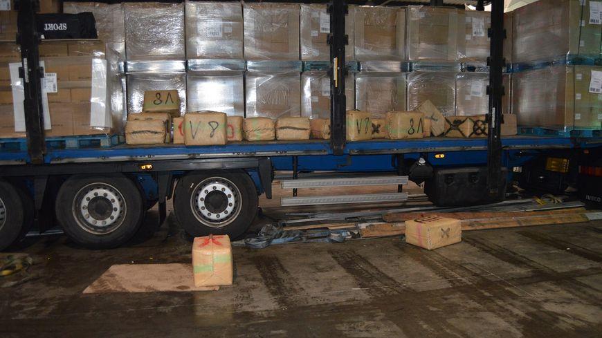 Le camion intercepté dans l'Aveyron