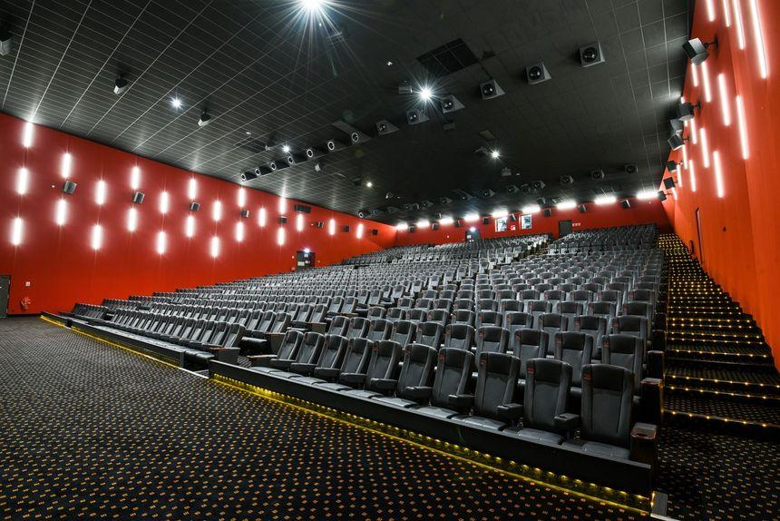 Le Mégarama de Boulogne proposera 14 salles sur deux niveaux, dont une de 450 places avec sièges en cuir, larges et tout confort.