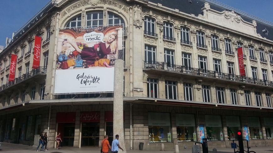 Les Galeries Lafayettes, une des grandes enseignes ouvertes dimanche 24 et 31 décembre