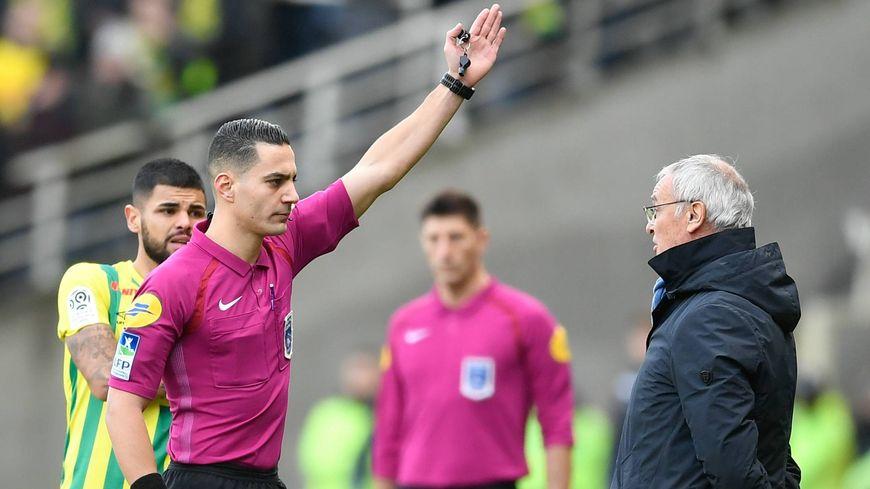 Claudio Ranieri expulsé face à Angers