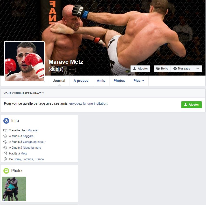 """Le groupe Facebook ouvert pour relayer les """"marave challenge"""""""