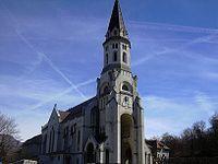 La basilique de la Visitation d'Annecy, où se trouvent les reliques de saint François de Sales