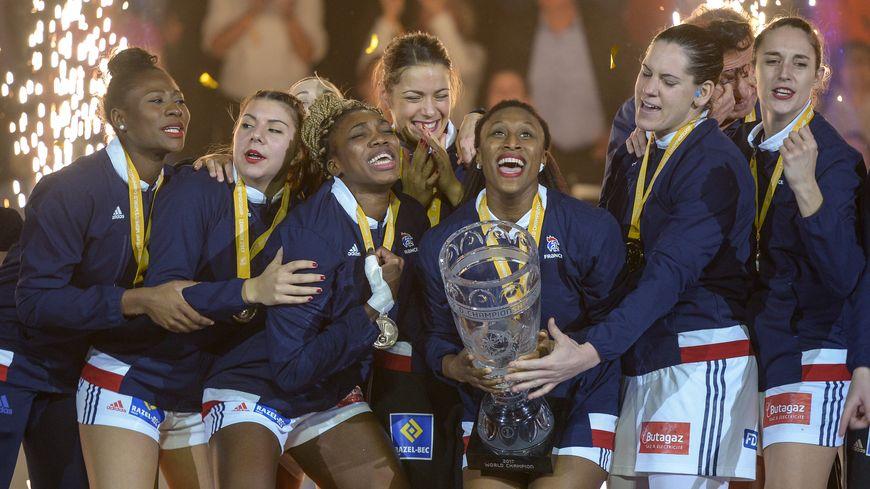Les françaises championnes du monde en Allemagne