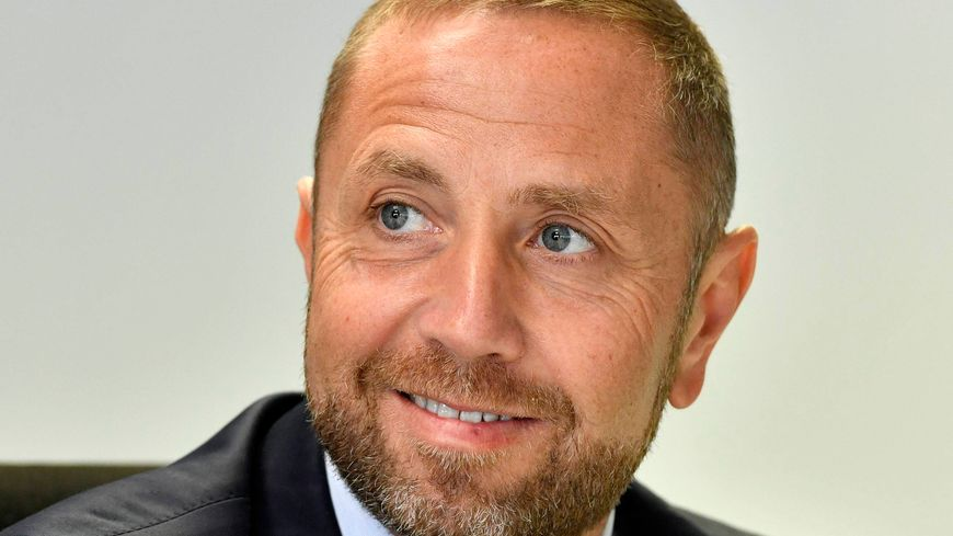 Bertrand Desplat, le président de l'En Avant Guingamp