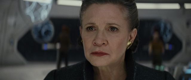 Star Wars - Les Derniers Jedi : Photo Carrie Fisher