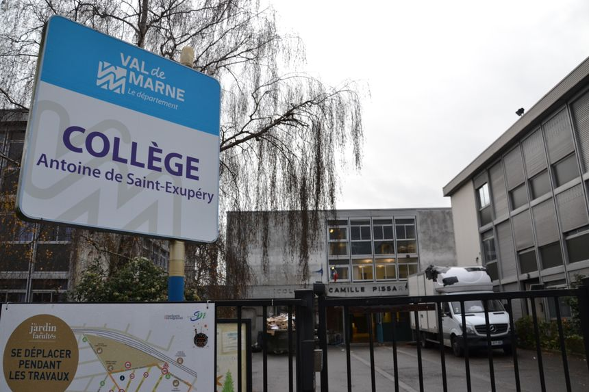 Le collège Saint-Exupéry de Vincennes devient pour quelques mois le collège Saint-Exupéry de Saint-Maur-des-Fossés