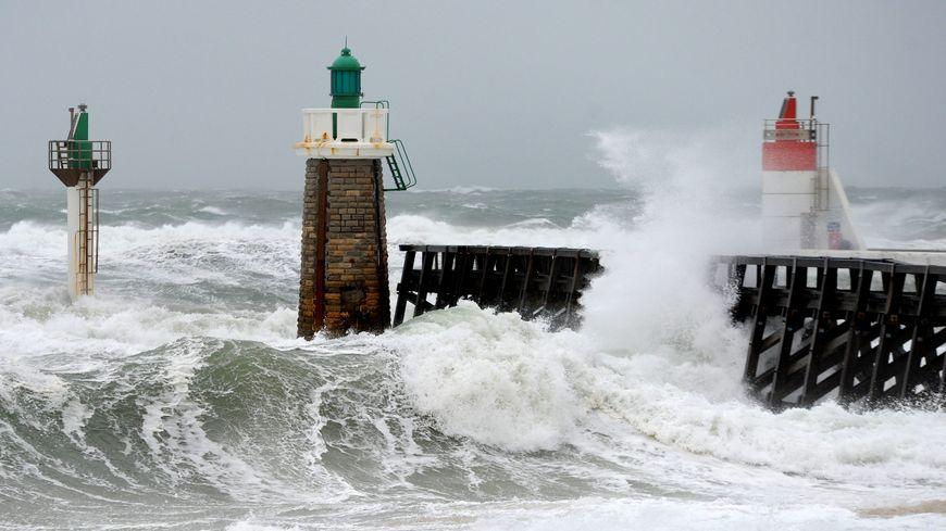 Météo France enregistre a enregistré des rafales de vent à 115km/h à Capbreton
