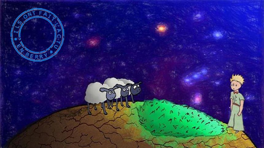 Le dessin réalisé par Diego Gernais