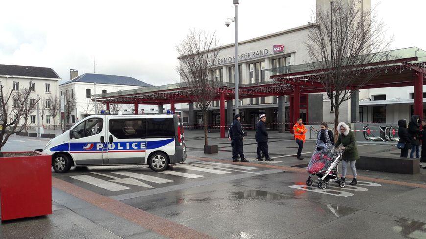 La gare SNCF de Clermont-ferrand évacuée