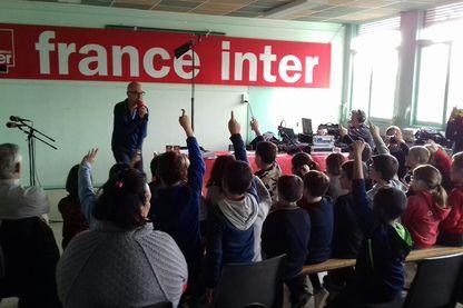 Enregistrements avec les élèves de l'école d'Allonnes, Sarthe