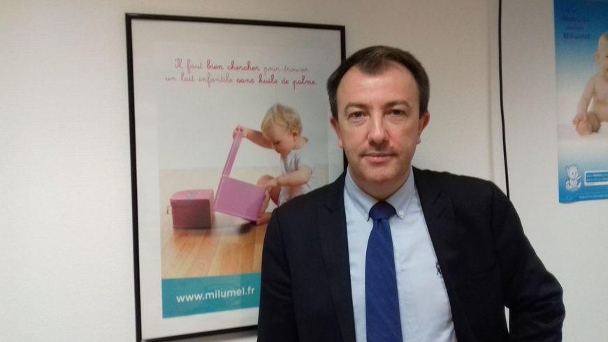 Arnaud Boisnard, le directeur général de Lactalis Nutrition Santé