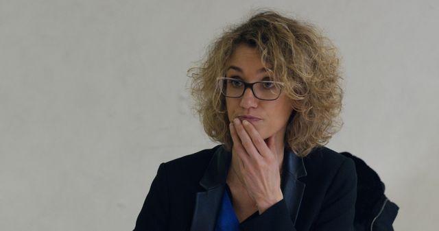"""L'une des juges dans """"12 jours"""" de Raymond Depardon"""