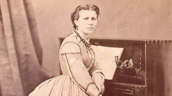 Marie Jaëll vers 1876 / Document BNU Strasbourg