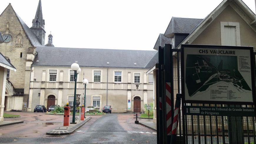 Le centre hospitalier spécialisé Vauclaire, à Montpon.