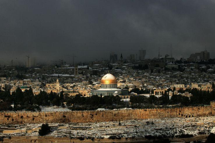 Jérusalem, janvier 2008