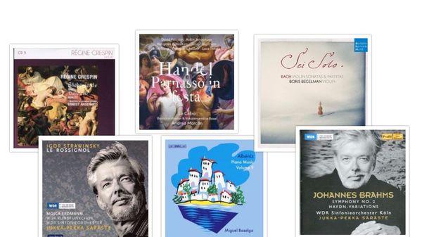 Actualité du disque : Albeniz, Bach, Ravel...