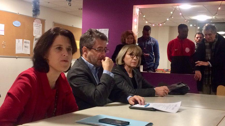 La préfète de Dordogne et le maire de Périgueux ont visité un centre d'hébergement et de réinsertion sociale
