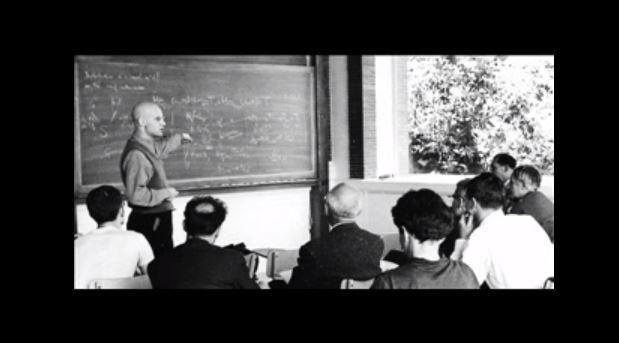 """Capture d'écran de la conférence d'Alexander Grothendieck """"Allons-nous continuer la recherche scientifique""""?"""""""