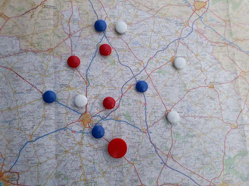 Un exemple de contrôles routiers réalisés en décembre - Radio France
