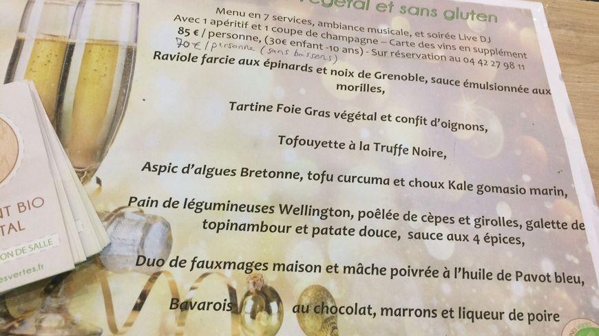 """Le restaurant """"Les cuisines vertes"""" à Aix-en-Provence propose un menu 100% végan pour le réveillon"""